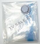 3 шт. Вакуумный мешок пакет с клапаном для многократного использования 60 х 50 см. Vacuum Compressed Bag (код.9-3844)