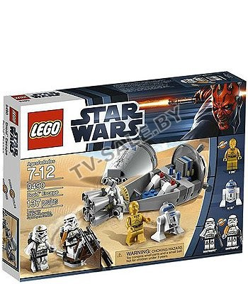 ����� �������� ������������ LEGO 9490  Star Wars - Droid Escape (���� ���� ���� - ����� �������)
