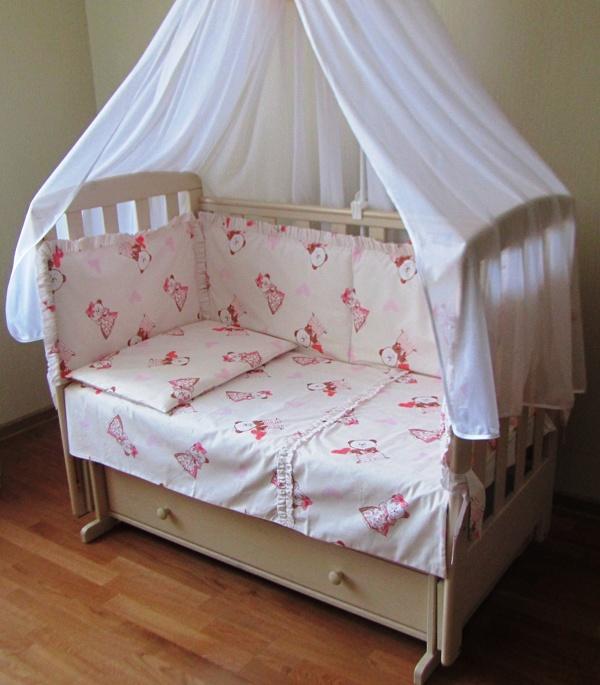 Комплект в кроватку размеры