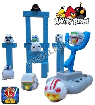 "���������� ���� Angry Birds Star Wars (����� ����� ���� ����) ""0047""  (���.9-3896)"