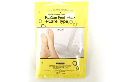 Маска-пилинг носочки для пилинга ног Peeling Feet Mask + Care Type (код.5-2063)