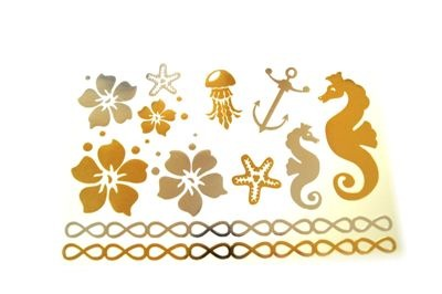 Флэш-тату (Flash Tattoos, флештату) . 5 шт.