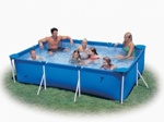 Каркасный бассейн Intex Rectangular Frame Pool 28272/58981 (300х200х75 см)
