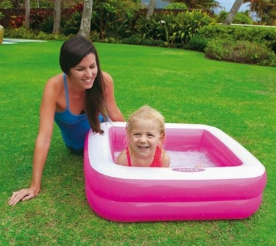 Intex Бассейн Play Box Pool квадратный 85х85х23см, 57100