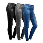 Леджинсы Slim and Lift Caresse Jeans (2 пары) (арт. 9-5640)