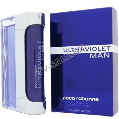 Туалетная вода Paco Rabanne Ultraviolet man 100ml (арт. 9-2420)
